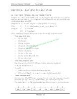 BÀI GIẢNG ĐIỀU KHIỂN LẬP TRÌNH 2 - CHƯƠNG 2 : TẬP LỆNH CỦA PLC S7-300 pot