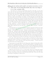 Hệ thống điện và điện tử trên ôtô hiện đại - Hệ thống điện động cơ - Chương 6 pdf