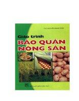 Giáo trình bảo quản nông sản - Chương 1 Mở đầu doc