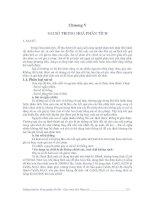 Giáo trình hóa phân tích - Chương 5 Sai số trong hóa phân tích pptx