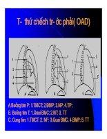Thực hành x quang tim mạch part 2 pps