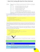 Giáo trình hướng dẫn lập trình theo AutoCad phần 1 potx