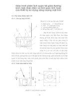 Giáo trình phân tích quan hệ giữa đường kính mặt nhận diện và thời gian tính toán của thiết bị sử dụng năng lượng mặt trời p1 potx