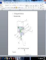 Đề án kỹ thuật  Tính toán thiết kế, hệ thống phanh thủy lực 2013