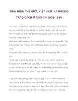 TÌNH HÌNH THẾ GIỚI, VIỆT NAM VÀ PHONG TRÀO CÁCH MẠNG VN 1936-1939_4 docx