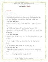 Giáo án giảng dạy lớp Chồi: Chủ đề: Em yêu cô giáo potx