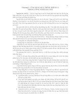 QUÁ TRÌNH LỌC TÁCH VẬT LÝ - Chương 2 : ỨNG DỤNG QUÁ TRÌNH TRÍCH LY TRONG CÔNG NGHỆ LỌC DẦU doc