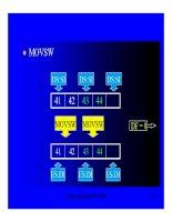 Cấu trúc máy tính và lập trình Assembly : :LẬP TRÌNH XỬ LÝ MẢNG & CHUỔI part 6 pptx
