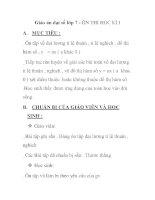 Giáo án đại số lớp 7 - ÔN THI HỌC KÌ I docx