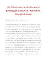 Đôi điều cần bàn lại về mối quan hệ giữa Nguyễn Bỉnh Khiêm - Nguyễn Dữ_2 docx