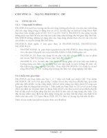 BÀI GIẢNG ĐIỀU KHIỂN LẬP TRÌNH 2 - CHƯƠNG 3: MẠNG PROFIBUS- DP ppt