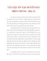 TÀI LIỆU ÔN TẬP DUYÊN HẢI MIỀN TRUNG - ĐỊA 12_4 pptx