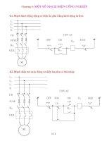 Giáo án điện công nghiệp - Chương 4: MỘT SỐ MẠCH ĐIỆN CÔNG NGHIỆP pps