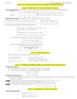 Tài liệu ôn thi lý thuyết môn sinh học ppsx