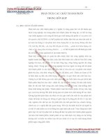 Giáo trình đo lường nhiệt - Chương 6 phân tích chất thành phần trong hỗn hợp docx