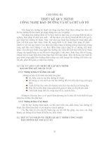 Giáo trình công nghệ bảo dưỡng và sửa chữa ô tô - Chương 3 docx