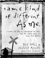 Same kind of different as me   ron hall, denver moore
