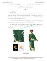 Giáo trình Thiết kế trang phục IV - Phần 2: Phương pháp thiết kế - Chương 3 pot