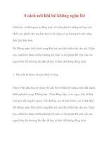 4 cách nói khi bé không nghe lời pot