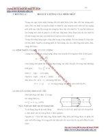 Giáo trình đo lường nhiệt - Chương 4 đo lưu lượng môi chất pps