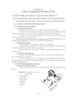 Giáo trình công nghệ bảo dưỡng và sửa chữa ô tô - Chương 4 docx