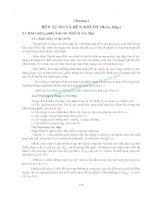 GIÁO TRÌNH CÔNG NGHỆ KIM LOẠI - PHẦN II GIA CÔNG KIM LOẠI BẰNG ÁP LỰC - CHƯƠNG 4 pdf