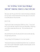 """TƯ TƯỞNG """"CON NGƯỜI BẠC MỆNH"""" TRONG THƠ CA NGUYỄN DU_4 pdf"""