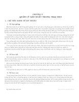Giáo trình kỹ thuật chăn nuôi heo - Chương 5 pdf