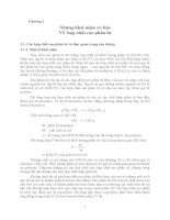 Giáo trình - Hóa lý các hợp chất cao phân tử - chương 1 ppt