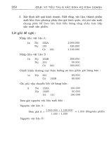 Bài tập và bài giải nguyên lý kế toán part 6 doc