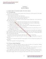 GIÁO TRÌNH HÓA LÝ LỸ THUẬT MÔI TRƯỜNG - Chương 3 DUNG DỊCH pps