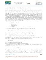 Giáo trình chất thải nguy hai : SỰ LAN TRUYỀN TÍCH LŨY TRONG MÔI TRƯỜNG VÀ CÁC KHÁI NIỆM CƠ BẢN VỀ ĐỘC CHẤT HỌC part 2 ppt