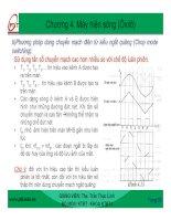 Bài giảng : CƠ SỞ ĐO LƯỜNG ĐIỆN TỬ part 5 pdf