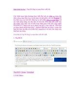 Giáo trình tin học : Top 20 công cụ soạn thảo xuất sắc doc