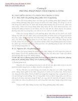 GIÁO TRÌNH PHÂN TÍCH MÔI TRƯỜNG - PHẦN 1 CƠ SỞ LÝ THUYẾT HOÁ HỌC PHÂN TÍCH (phân tích định lượng) - CHƯƠNG 2 potx