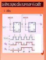 Bài giảng : Mạch tuần tự Flip Flop và ghi dịch part 7 pdf