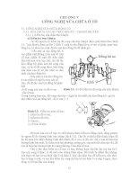 Giáo trình công nghệ bảo dưỡng và sửa chữa ô tô - Chương 5 pot