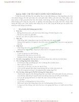 GIÁO TRÌNH KIỂM TRA CHẤT LƯỢNG SẢN PHẨM NGÀNH MAY - CHƯƠNG 2 : KIỂM TRA CHẤT LƯỢNG SẢN PHẨM NGHÀNH MAY (tiếp theo ) pps