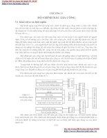 GIÁO TRÌNH CƠ SỞ CÔNG NGHỆ CHẾ TẠO MÁY - CHƯƠNG 5 ĐỘ CHÍNH XÁC GIA CÔNG pps