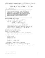 Chuyên đề Bài tập hình học lớp 10 ( có sử dụng tài liệu từ các nguồn khác)