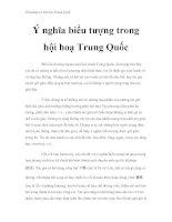 Thư pháp và hội họa Trung Quốc - Ý nghĩa biểu tượng trong hội hoạ Trung Quốc pot