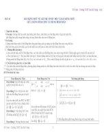 Giáo án đại số lớp 10: BẤT ĐẲNG THỨC VỀ GIÁ TRỊ TUYỆT ĐỐI VÀ BẤT ĐẲNG THỨC GIỮA TRUNG BÌNH CỘNG VÀ TRUNG BÌNH NHÂN pps
