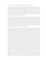 TỰ DO HÓA THỊ TRƯỜNG CHỨNG KHOÁN VIỆT NAM - CÁC VẤN ĐỀ CHỦ YẾU ĐỐI VỚI CƠ QUAN QUẢN LÝ NHÀ NƯỚC VỀ CHỨNG KHOÁN VÀ CÁC CÔNG TY CHỨNG KHOÁN TRONG NƯỚC - Phần 4 ppt