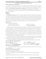 Tài liệu luyện thi Đại học - READING COMPRENSION SKILLS potx