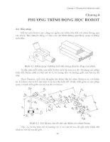 Giáo trình KỸ THUẬT ROBOT - Chương 4 pptx