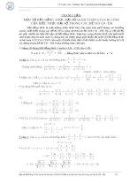 Một số bất đẳng thức đại số và bài toán GTLN và GTNN của biểu thức đại số trong các đề thi cao đẳng - đại học pot