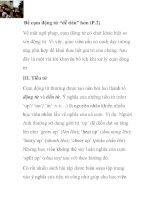 """Để cụm động từ """"dễ tiêu"""" hơn (P.2) pdf"""
