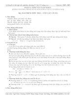 Lý thuyết và bài tập trắc nghiệm chương II vật lý 12 nâng cao doc