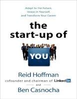 Reid hoffman   the startup of you