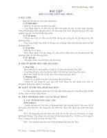Giáo án đại số lớp 10: BÀI TẬP (DẤU CỦA NHỊ THỨC BẬC NHẤT) - 2 pps